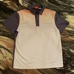 Puma Boys Polo Shirt with Dry Cell Technology